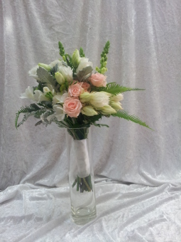 Soft Coloured Wedding Bouquet