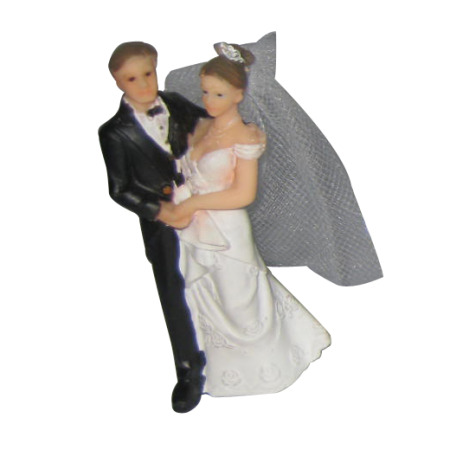 Cake Topper Bride & Groom