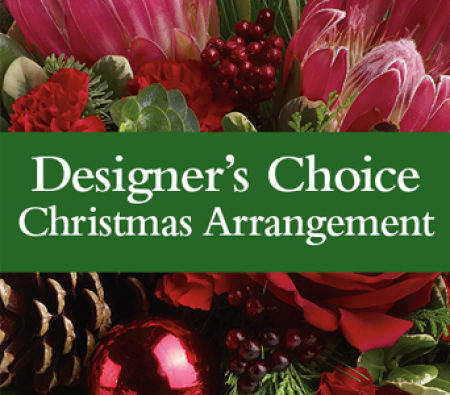 Designer`s Choice Christmas Arrangement