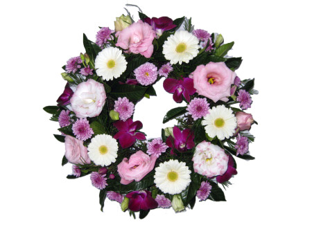 Pretty Pastel Covered Wreath