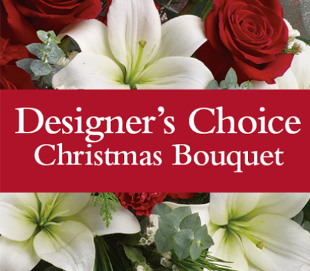Designer`s Choice Christmas Bouquet